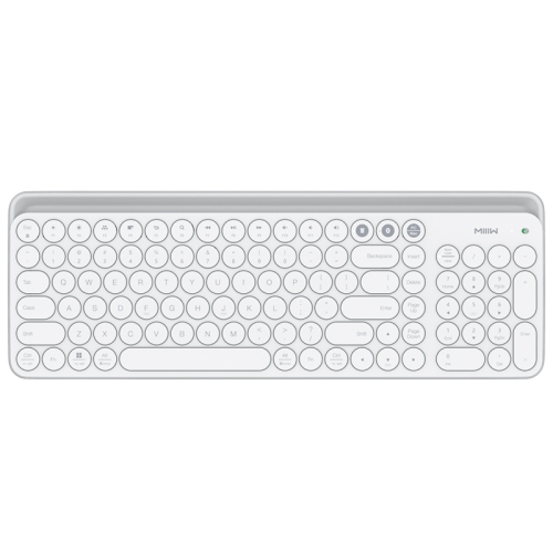 Xiaomi MIIIW 102 Keys Bluetooth + 2.4GHz Wireless Dual Modes Keyboard(White)