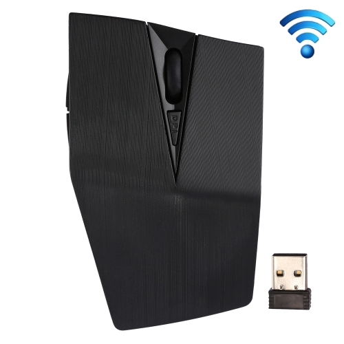 93b74fff2d0 2.4GHz USB Receiver Adjustable 1200 DPI Wireless Optical Mouse for Computer  PC Laptop (Black) ...