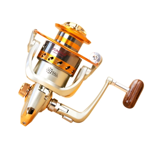 Buy YUMOSHI EF4000 12 Ball Bearings Rocker Handle Wheel Seat Fishing Spinning Reel for $8.72 in SUNSKY store
