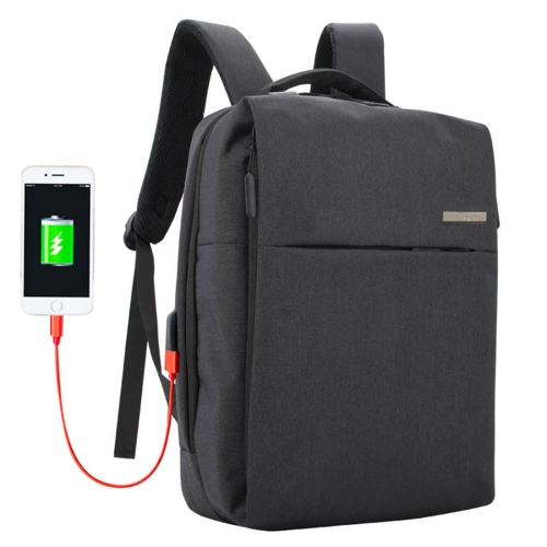 Фото - Shinlee Multi-function Business Casual Backpack Hand Laptop Tablet Bag for 15.6 inch and Below, External USB Charging Port & Earphone Port(Black) 2018 tigernu new arrival laptop backpack 15 6 inch usb charge for men