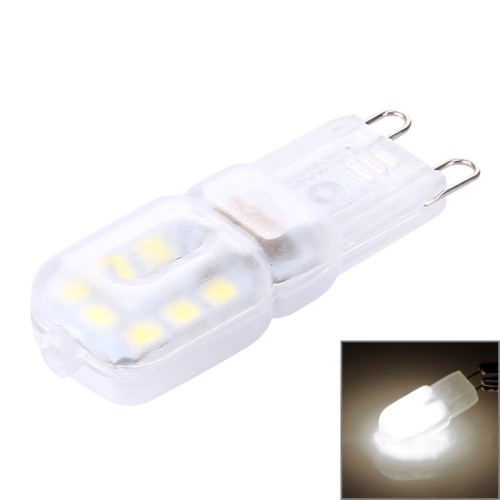 Buy G9 2.5W 200LM 14 LED SMD 2835 Transparent Cover Corn Light Bulb, AC 220-240V (White Light) for $1.15 in SUNSKY store