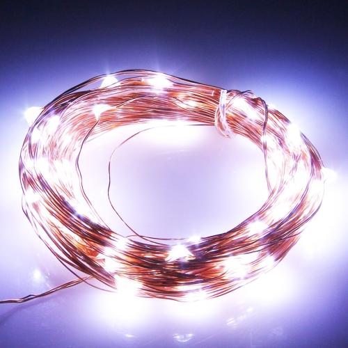 Buy 5m 100 LED SMD 0603 Copper Wire String Decoration Lights / Festival Light, DC 12V (White Light) for $3.71 in SUNSKY store