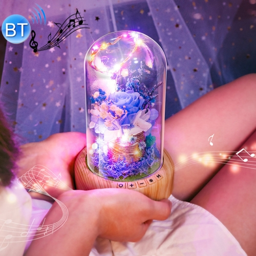 Buy Dream Streamer Bottle Rechargeable LED Decorative Night Light Table Lamp with Bluetooth Speaker Function for $19.48 in SUNSKY store