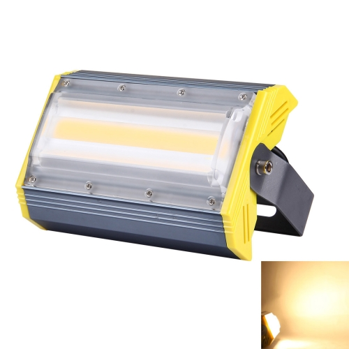 Buy 30W 3000LM IP65 Waterproof Aluminum Casing COB LED Linear Floodlight Lamp, AC 85-256V (Warm White) for $15.86 in SUNSKY store