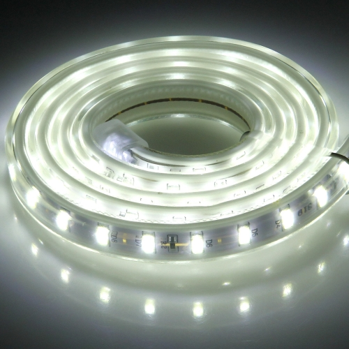 Buy 72 LEDs SMD 5730 Casing IP65 Waterproof LED Light Strip with Power Plug, 72 LED/m, Length: 1m, AC 220V (White Light) for $2.28 in SUNSKY store