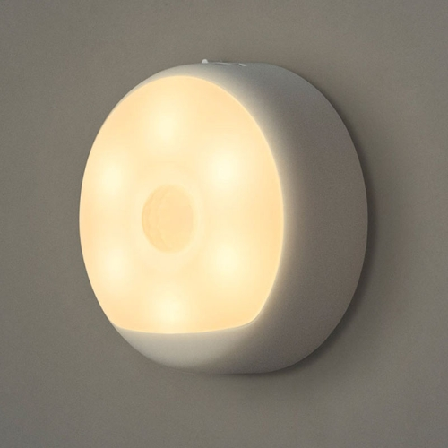 Buy Original Xiaomi Yeelight USB Charging Human Body Motion Sensor + Light Control Sensor LED Night Light with Hook, Sensor Distance: 5-7m (Warm White) for $13.15 in SUNSKY store