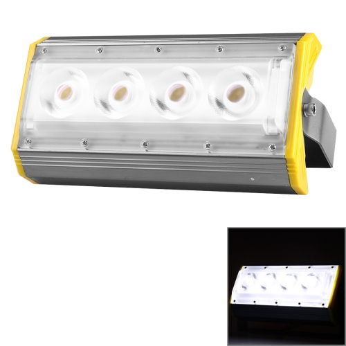 Buy LS50A 50W 4 LEDs 5000 LM 3000-6000K IP65 Waterproof New Design LED Linear Project-light Lamp Flood Light Lamp, AC 100-240V (White Light) for $19.09 in SUNSKY store