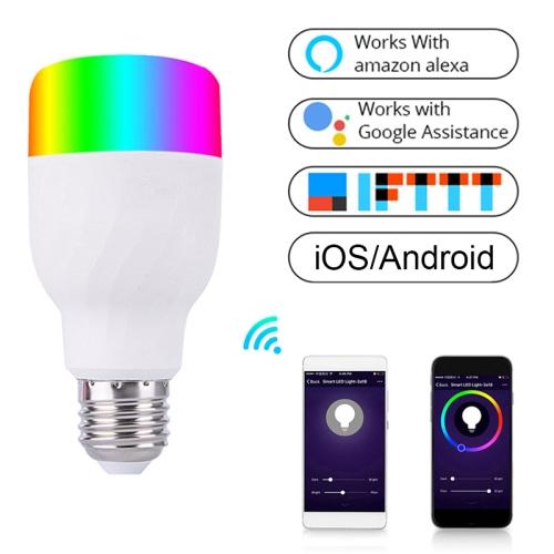 E27 RGB Dimming WIFI Smart LED Light Bulb (Colorful Light)