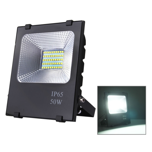 Buy 50W 2700-6500K SMD-5054 IP65 Waterproof LED Floodlight Lamp, AC 85-265V (White Light) for $12.90 in SUNSKY store