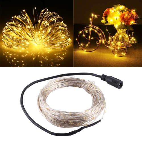 Buy 20m 3W 200 LEDs SMD 0603 IP65 Waterproof Silver Wire String Light Fairy Lamp Decorative Light, DC 12V (Warm White) for $7.30 in SUNSKY store