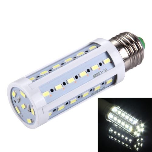 Buy E27 10W 880LM 42 LED SMD 5730 PC Case Corn Light Bulb, AC 85-265V (White Light) for $1.65 in SUNSKY store