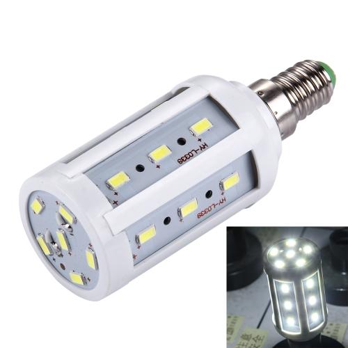 Buy E14 5W 380LM 24 LED SMD 5730 PC Case Corn Light Bulb, AC 85-265V (White Light) for $1.35 in SUNSKY store