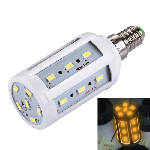 Buy E14 5W 380LM 24 LED SMD 5730 PC Case Corn Light Bulb, AC 85-265V (Warm White) for $1.35 in SUNSKY store