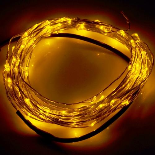 String Lights Typo : SUNSKY - 10m 12V 6W 500LM SMD-0603 LED Silver Wire String Light Festival Lamp / Decoration Light ...