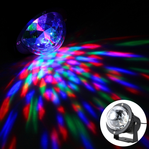 Buy 3W 3 LEDs RGB IP65 Waterproof LED Outdoor Lawn Garden Mini Crystal Magic Ball Stage Light for Disco DJ, KTV Club, Bar, Wedding, Home Party (Colorful Light) for $10.92 in SUNSKY store