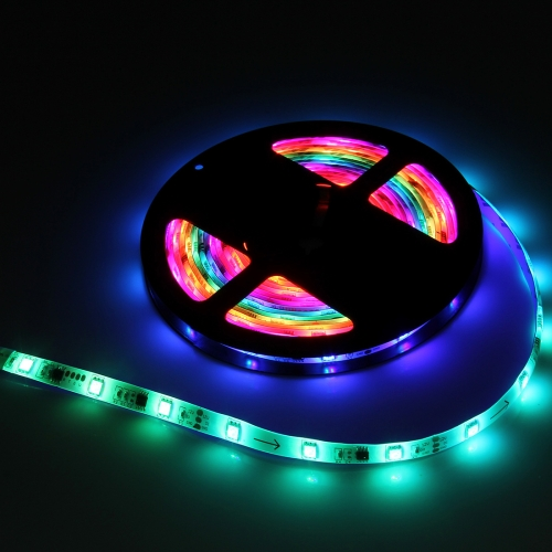 Buy 5m 40W 150 LEDs SMD-5050 Epoxy Waterproof Pixel Horse Race Rope Light, Single Side (Colorful Light) for $9.90 in SUNSKY store
