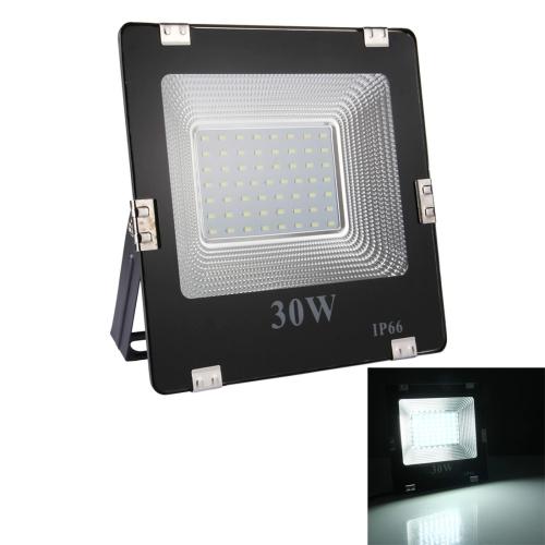 Buy 30W 57 LEDs SMD 5730 2700 LM IP66 Waterproof LED Flood Light, AC 170-265V (White Light) for $5.25 in SUNSKY store