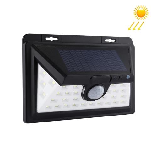 Buy 34 LEDs SMD 2835 White Light IP65 Waterproof Energy Saving PIR Motion Sensor Solar Light with 5.5V 0.5W Solar Panel for Garden, Yard, Park, Road for $12.44 in SUNSKY store