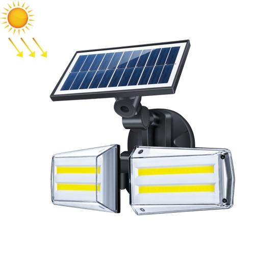 82 COBs Home Courtyard Waterproof Double Heads Rotatable Solar Wall Light Street Light фото