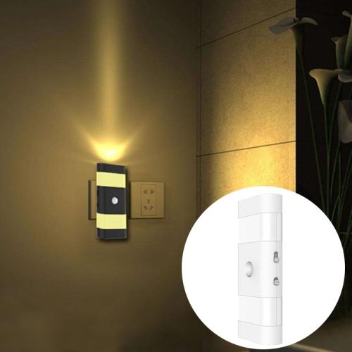 Buy 6 LEDs 45 LM USB Charging 2 Modes White Light or Warm White Light CDS + PIR Human Body Motion Sensor Rectangle Shape LED Night Light, Sensor Distance: 3-6m, White for $11.94 in SUNSKY store