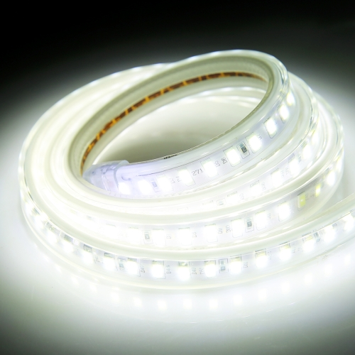 Buy Casing Waterproof IP65 SMD 5730 LED Light Strip with Power Plug, 120 LED/m, Length: 1m, AC 220V (White Light) for $2.67 in SUNSKY store