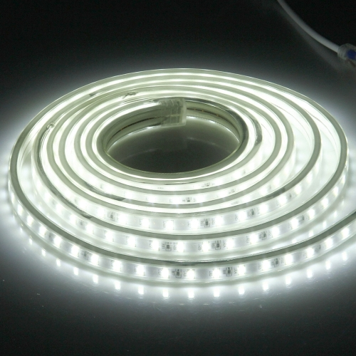 Buy Casing Waterproof IP65 SMD 5730 LED Light Strip with Power Plug, 120 LED/m, Length: 2m, AC 220V (White Light) for $4.47 in SUNSKY store