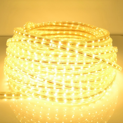 Buy Casing Waterproof IP65 SMD 5730 LED Light Strip with Power Plug, 120 LED/m, Length: 10m, AC 220V (Warm White) for $16.41 in SUNSKY store