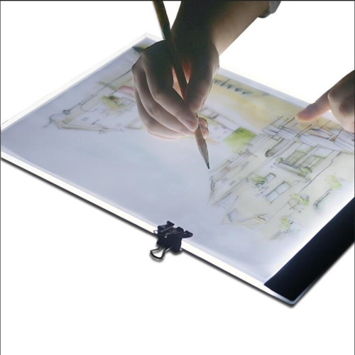 Ultra-thin A4 Size Portable USB LED Artcraft Tracing Light Box Copy Board Brightness Control for Artists Drawing Sketching Animation and X-ray Viewing