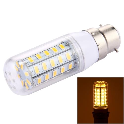 Buy 5 PCS B22 4.5W 48 LEDs SMD 5730 Corn Light Bulb, AC 220-240V (Warm White) for $5.90 in SUNSKY store