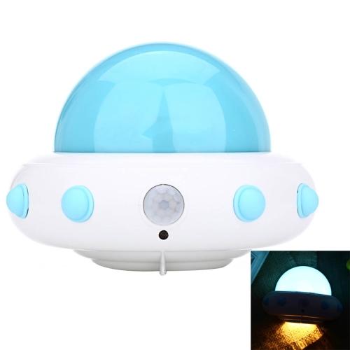 Buy YouOKLight YK2231 1W 5 LEDs USB Charging White Light Flying Saucer UFO Shaped LED Night Light Motion Sensor Lamp for Kids Nursery Bedroom, DC 5V, Blue for $7.44 in SUNSKY store