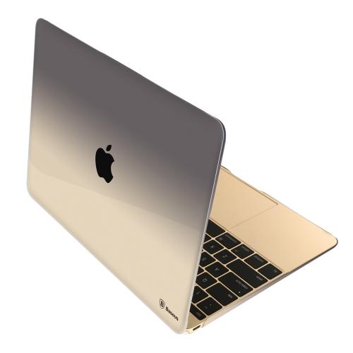 brand new ae481 5691c SUNSKY - Baseus for New MacBook 12 inch Fashionable Transparent ...