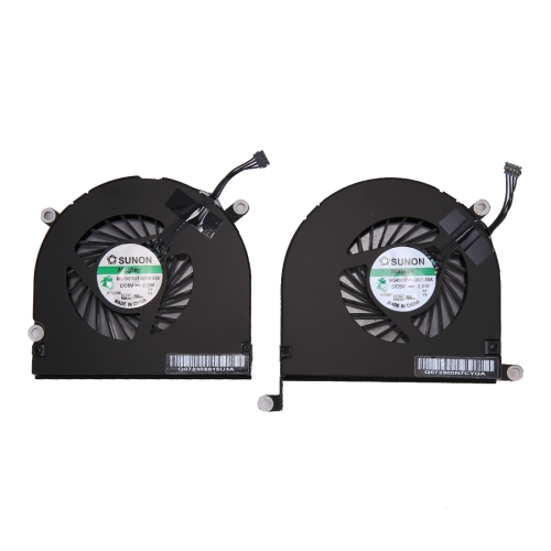 1 Pair for Macbook Pro 17 inch A1297 (2009 - 2011) Cooling Fans (Left + Right)