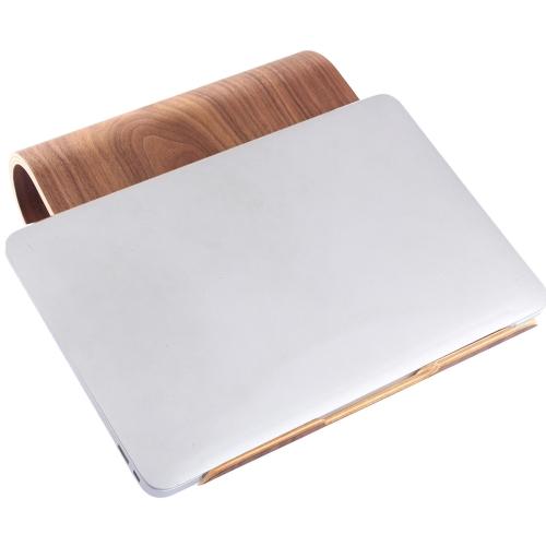 Buy SamDi Artistic Wood Grain Walnut Desktop Heat Radiation Holder Stand Cradle for $17.92 in SUNSKY store