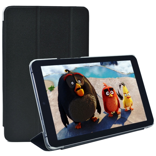 Buy Cube X9 8.9 inch Frosted Texture Horizontal Flip Leather Case with Three-folding Holder, Black for $4.90 in SUNSKY store