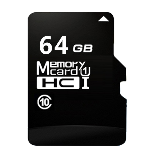 64GB High Speed Class10 Black TF(Micro SD) Memory Card