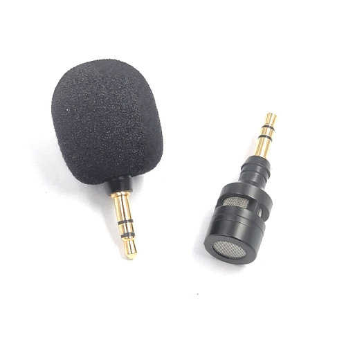 ZJ052MR-01 Stereo 3.5mm Mobile Phone Tablet Game Machine Mini Straight Microphone фото