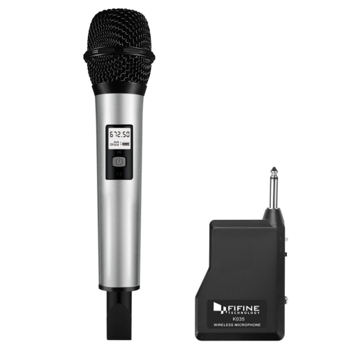 Buy FIFINE K035 U Segment Selectable 20-channel Wireless Handheld Microphone for $25.18 in SUNSKY store