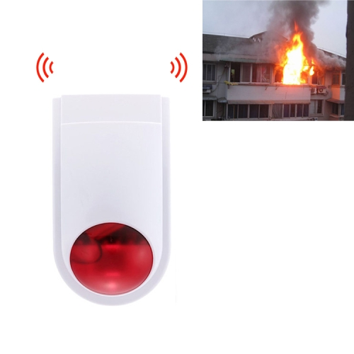 sunsky-online.com - 15% OFF by SUNSKY COUPON CODE: MDC5603 for PE-516R Wireless Outdoor Alarm Siren with Strobe