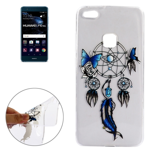 Buy Huawei P10 Lite Butterfly Chimes Pattern Soft TPU Protective Case for $1.48 in SUNSKY store