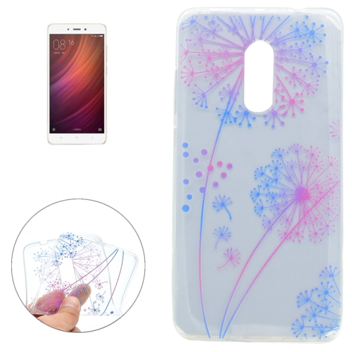 Buy Xiaomi Redmi Note 4 Colorful Dandelion Pattern Soft TPU Protective Case for $1.16 in SUNSKY store