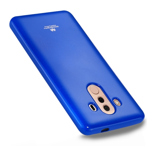 Buy GOOSPERY MERCURY PEARL JELLY Huawei Mate 10 Pro TPU Soft Protective Back Cover Case, Blue for $2.65 in SUNSKY store