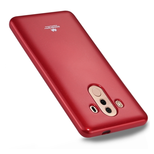 Buy GOOSPERY MERCURY PEARL JELLY Huawei Mate 10 Pro TPU Soft Protective Back Cover Case, Red for $2.65 in SUNSKY store