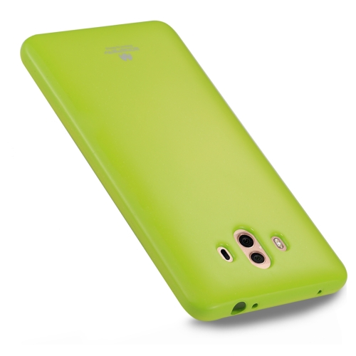 Buy GOOSPERY MERCURY PEARL JELLY Huawei Mate 10 TPU Soft Protective Back Cover Case, Green for $2.65 in SUNSKY store