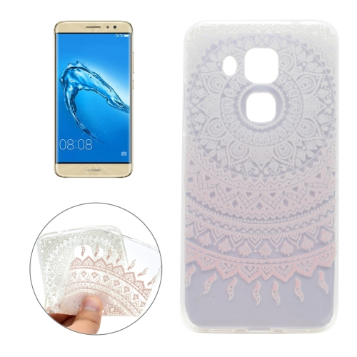 Buy For Huawei nova plus & Maimang 5 Pink Flower Texture Pattern Pink Flower Texture Pattern Transparent Soft TPU Protective Back Cover Case for $1.16 in SUNSKY store