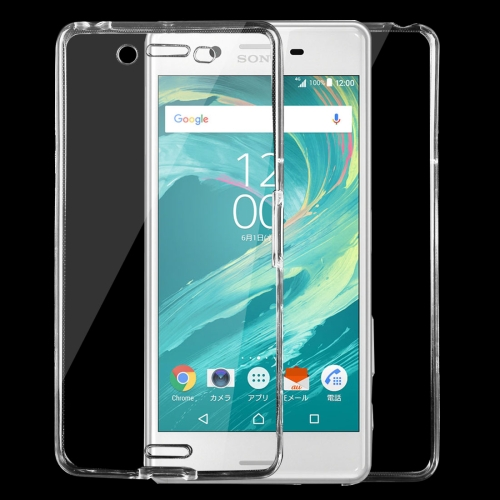 Buy For Sony Xperia X Performance 0.75mm Double-sided Ultra-thin Transparent TPU Protective Case, Transparent for $1.16 in SUNSKY store