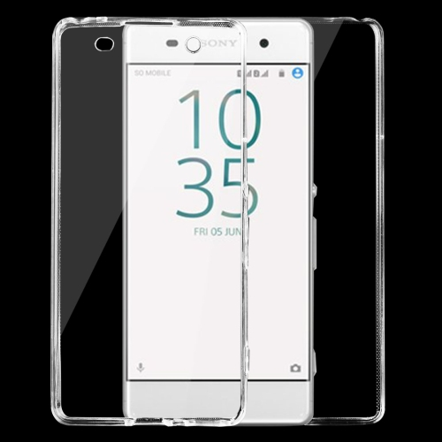 Buy For Sony Xperia XA 0.75mm Double-sided Ultra-thin Transparent TPU Protective Case, Transparent for $1.16 in SUNSKY store