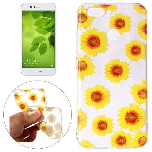 Buy Huawei nova 2 Chrysanthemum Pattern Embossment TPU Protective Back Cover Case for $1.54 in SUNSKY store