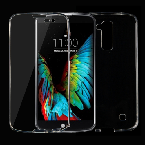 Buy For LG K10 0.75mm Double-sided Ultra-thin Transparent TPU Protective Case, Transparent for $1.26 in SUNSKY store