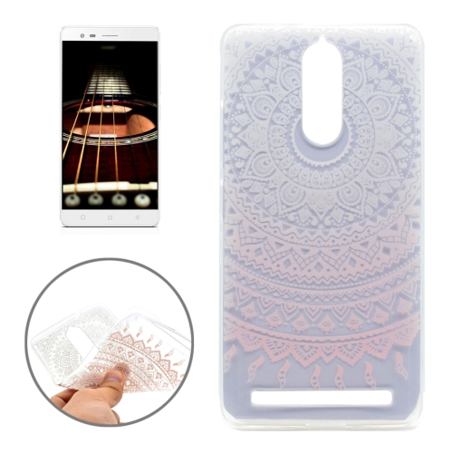 Buy Lenovo Lemon K5 Note Pink Flower Texture Pattern Transparent Soft TPU Protective Back Cover Case for $1.16 in SUNSKY store