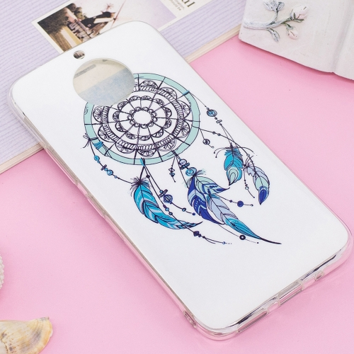 Buy For Motorola Moto G5S Plus Noctilucent IMD Feather Dream Catcher Pattern Soft TPU Back Case Protector Cover for $1.40 in SUNSKY store